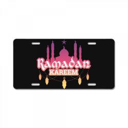 Ramadan kareem, Muslim, Islam License Plate   Artistshot