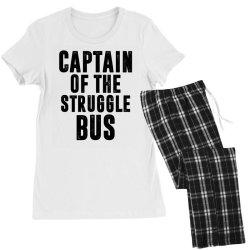CAPTAIN OF THE STRUGGLE BUS | Funny quotes Women's Pajamas Set | Artistshot