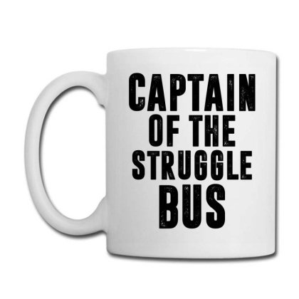 Captain Of The Struggle Bus | Funny Quotes Coffee Mug Designed By Rafaellopez