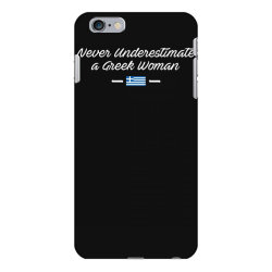 never underestimate a greek woman funny iPhone 6 Plus/6s Plus Case | Artistshot