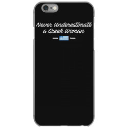 never underestimate a greek woman funny iPhone 6/6s Case | Artistshot