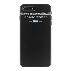never underestimate a greek woman funny iPhone 7 Plus Case | Artistshot