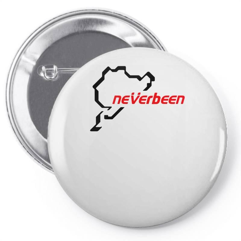 Neverbeen Pin-back Button   Artistshot