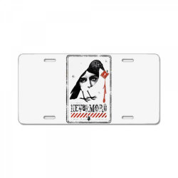 nevermore raven License Plate | Artistshot