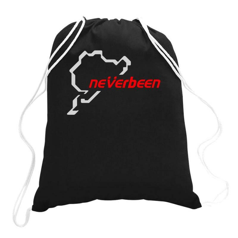 Neverbeen(1) Drawstring Bags   Artistshot