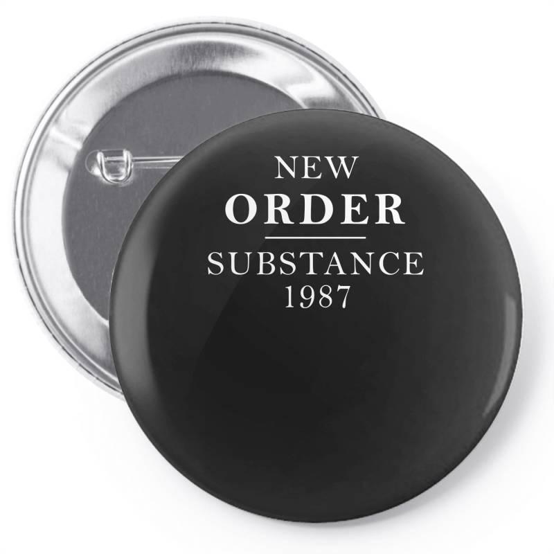 New Order Substance 1987 Funny Pin-back Button   Artistshot