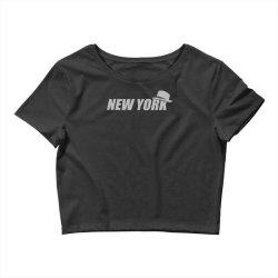 new york funny Crop Top | Artistshot