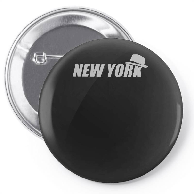 New York Funny Pin-back Button | Artistshot