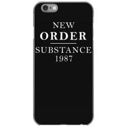 new order substance 1987 funny iPhone 6/6s Case | Artistshot