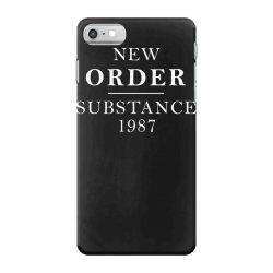 new order substance 1987 funny iPhone 7 Case | Artistshot