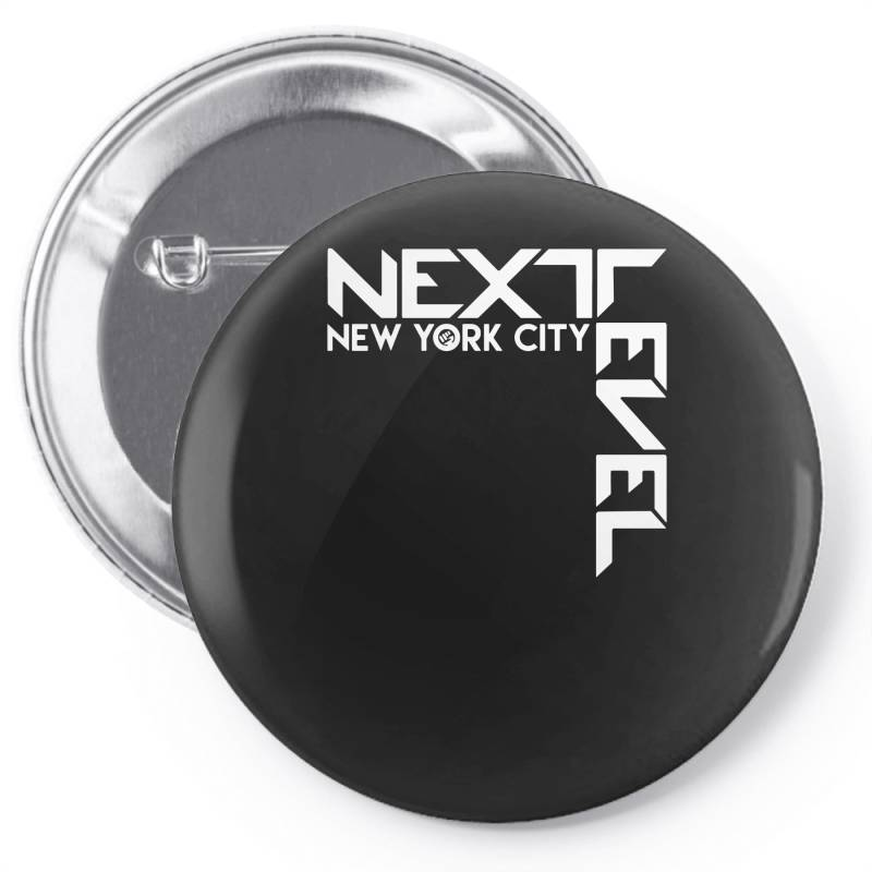Newyork City Next Evel Funny Pin-back Button | Artistshot