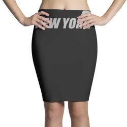 new york funny Pencil Skirts | Artistshot