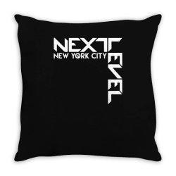 newyork city next evel funny Throw Pillow | Artistshot