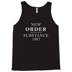 new order substance 1987 funny Tank Top   Artistshot