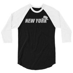 new york funny 3/4 Sleeve Shirt | Artistshot