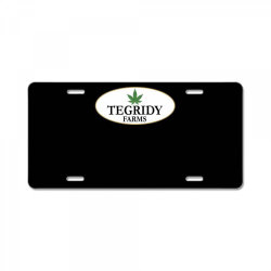 tegridy farms 2020 License Plate | Artistshot