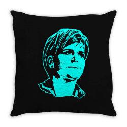nicola sturgeon 1 Throw Pillow | Artistshot