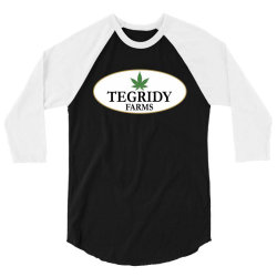 tegridy farms 2020 3/4 Sleeve Shirt | Artistshot
