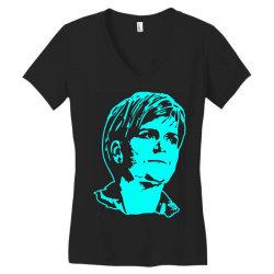 nicola sturgeon 1 Women's V-Neck T-Shirt   Artistshot