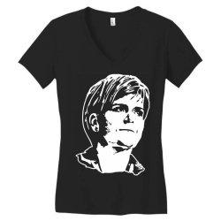 nicola sturgeon Women's V-Neck T-Shirt | Artistshot