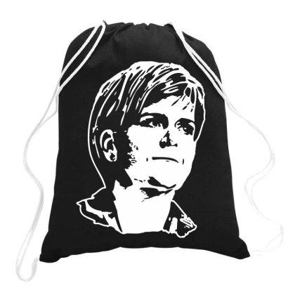 Nicola Sturgeon Drawstring Bags Designed By Ismi