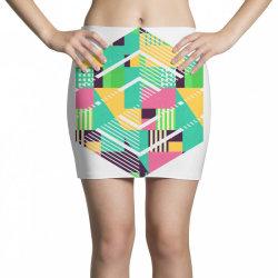 geometric abstract Mini Skirts | Artistshot