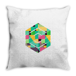 geometric abstract Throw Pillow | Artistshot