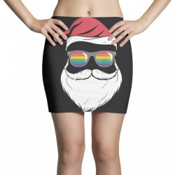 gay santa glasses Mini Skirts | Artistshot