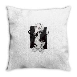 gas mask tree Throw Pillow | Artistshot