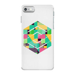 geometric abstract iPhone 7 Case | Artistshot
