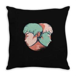gemini horoscope Throw Pillow | Artistshot