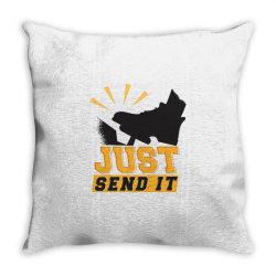 gas pedal Throw Pillow | Artistshot