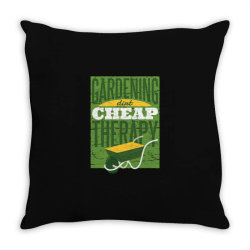 gardening therapy Throw Pillow | Artistshot