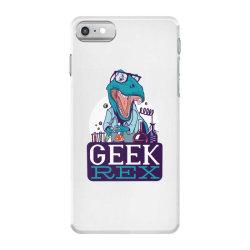 geek rex iPhone 7 Case | Artistshot