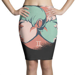 gemini horoscope Pencil Skirts   Artistshot