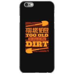 gardening iPhone 6/6s Case | Artistshot