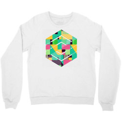 geometric abstract Crewneck Sweatshirt | Artistshot
