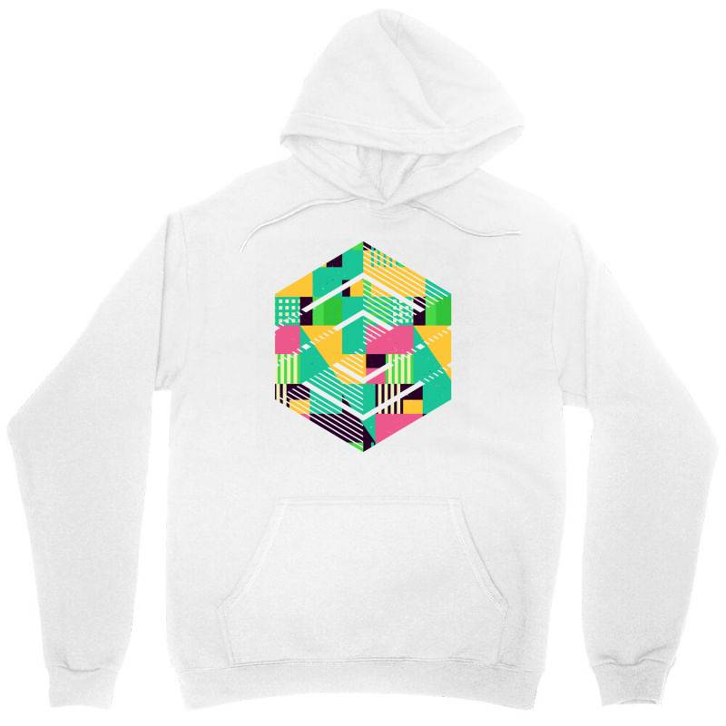 Geometric Abstract Unisex Hoodie | Artistshot