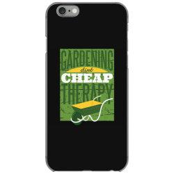 gardening therapy iPhone 6/6s Case | Artistshot