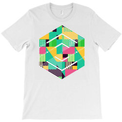 geometric abstract T-Shirt | Artistshot