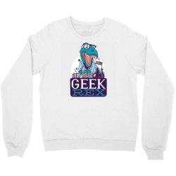 geek rex Crewneck Sweatshirt | Artistshot