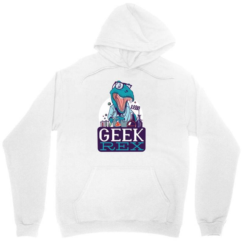 Geek Rex Unisex Hoodie   Artistshot
