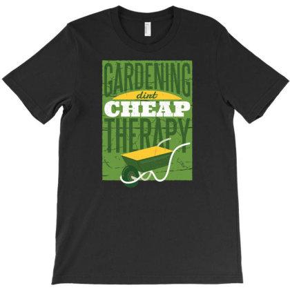 Gardening Therapy T-shirt Designed By Zizahart