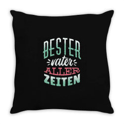 german best father Throw Pillow | Artistshot