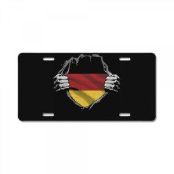 german flag License Plate   Artistshot