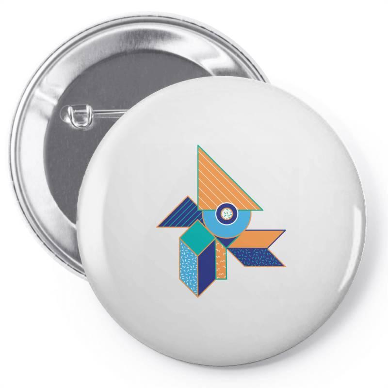 Geometrical Pin-back Button | Artistshot