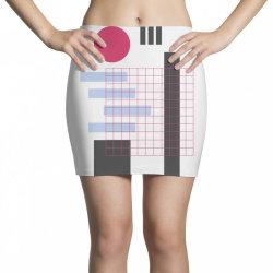 geometric mesh Mini Skirts | Artistshot