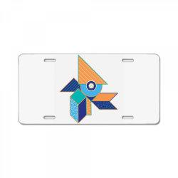geometrical License Plate | Artistshot