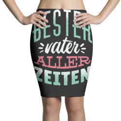 german best father Pencil Skirts | Artistshot