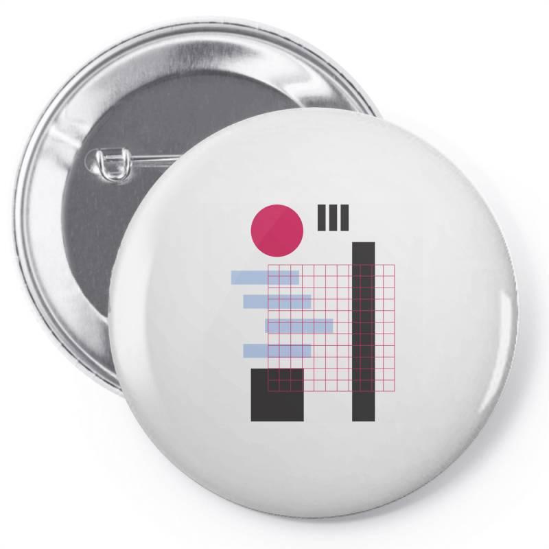 Geometric Mesh Pin-back Button   Artistshot